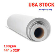 Ca Pickup 100g 44 X 328and039 High Tacky/ Sticky Sublimation Transfer Paper 10 Rolls