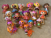 """Lalaloopsy Doll Full Size 15"""", 12 And Small Size 7 Lot Of 16"""