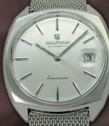 Waltham Americana Ref.2724 Cushion Case Automatic Vintage Watch 1960and039s