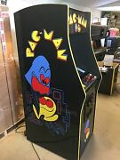 New Black Pacman Arcade Machine Upgraded To Play 412 Games