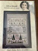 Remember Now Thy Creator Cross Stitch Chart By Hands Across The Sea Samplers