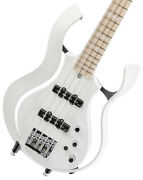 Vox Vsba-a2s-whpw Flame White Body Pearl Box Short Scale With Benefits