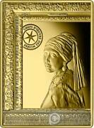 Girl With A Pearl Earring Vermeer Gold Coin 50andeuro Euro France 2021