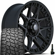 20in 4play Wheel Set For Ram Chevy Gmc Ford And 275/60r20 Terra Grappler 4ps50