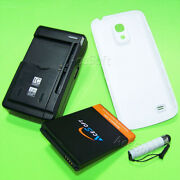 6300mah Extended Battery Back Cover Charger For Samsung Galaxy S4 Mini Sm-s890l