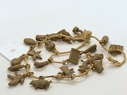 Copper Charms On String Vintage Gumball Charm Cracker Jack Vintage Charms 34