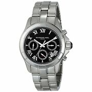 Raymond Weil Menand039s 7260-st-00208 Parsifal Chronograph Stainless Steel Watch