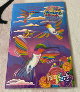 Vintage Lisa Frank Dashly Hummingbird Roses Writing Book Paper And Stickers