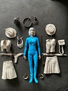 Vintage Marx 1973 Jane West Movable Cowgirl Doll And 18 Accessories