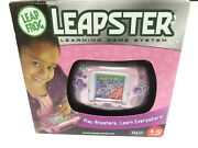 New Sealed Leap Frog Leapster Learning Game System - Pink