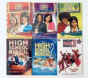 Lot Of 6 Disney High School Musical Paperback Chapter Books