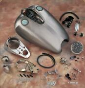 New Quickbob Extended Dash-style Rubber-mount Gas Tank Kit From Drag Specialties