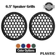 Advanblack X Xbs Color Matched Hex 6.5and039and039 Speaker Grill Lower Fairing Speaker Pod