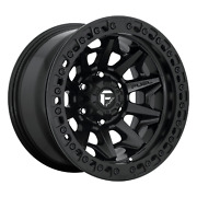 5x5 4 Wheels 17 Inch Rims Fuel D114 Covert Bl - Off Road Only 17x9-38mm Black
