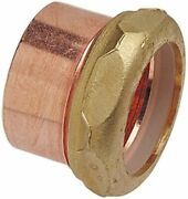 Nibco 901-7 Slip Joint Trap Adapter 1-1/2 X 1-1/4 Copper Adapter