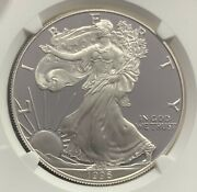 1996-p Proof American Silver Eagle Ngc Pf70 Ultra Cameo