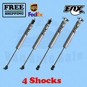 Fox Shocks Kit 4 Front 2-3.5 And Rear 2-3 Lift For Jeep Cherokee Xj 1984-01