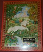 New Never Opened Vintage Springbok Jigsaw Puzzle Song Of The Unicorn 500+ Pieces