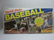 Vintage 1980 Strat O Matio Baseball Board Game Style No. 10 2 Games In 1