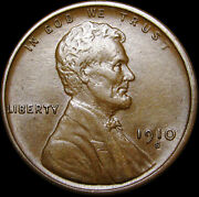 1910-s Lincoln Cent Wheat Penny ---- Stunning L@@k ---- R887