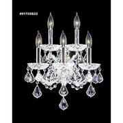 James R Moder 91705s2gt Maria Theresa 5 Light Wall Sconce
