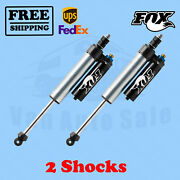 Fox Shocks Kit 2 4-6 Lift Front For Ford F350 - Cab Chassis/utility 4wd 2008-16
