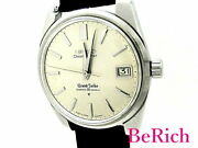 Grand Seiko 43999 Second Model Date Hand Winding Menand039s Watch Silver Gs Antique
