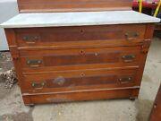 Antique Eastlake Hardware Victorian Marble Top Dressers 2 Available Price=1