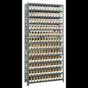 Quantum Storage Systems 1275-100 Steel Shelving With Plastic Bins