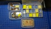 Mixed Lot Of Coins And Notes. Europe British Japan Australia Mexico