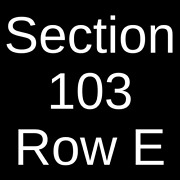 4 Tickets Earth, Wind And Fire 12/3/21 Atlantic City, Nj