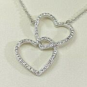 Fred Meyer Jewelers Hearts Sterling Silver Pendant Chain 17 Necklace Portland