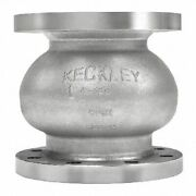 Keckley 6cg2r-36-36336 6 Globe Check Valve Connection Type Flanged
