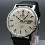 Oh Finished 1970 Omega Antique Constellation Day-date Cal751 Chronometer Vintage