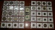 Lot Of 40 Mexican Coins - 37 Silver