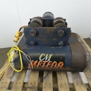 Cm Chisholm-moore 1-1/2t Electric Hoist Wire Rope 20and039 Lift 18fpm W/power Trolley