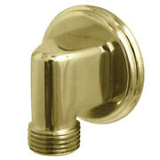 Showerscape K173t2 Wall Mount Water Supply Elbow Polished Brass
