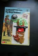 The Lone Ranger Rides Again Marx Gabriel The Stage Robbery Figure Outfit Moc