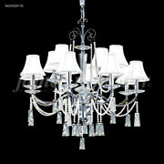 James R Moder 96019s2p-95 Pearl Collection 12 Arm Chandelier