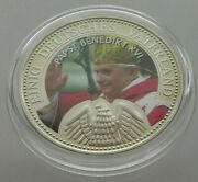 Germany Proof Medal Pope Benedict Xvi. 40mm W2 093