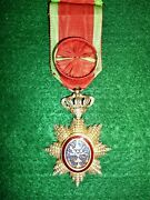 France Colonial Order Of Cambodia Officerand039s Decoration