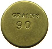 Great Britain 90 Grains Coin Weight P49 207