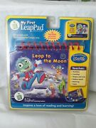 Leap Frog My First Leap Pad - Leap To The Moon Book Cartridge - Pre-k Math New