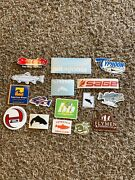 16 Fly Fish Fishing Stickers Simms Scotty Sage Orvis Typhoon Aftco Tenkara