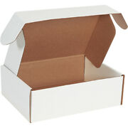 12 1/8 X 9 1/4 X 4 White Deluxe Literature Mailers Ect-32b - 500 Pieces