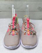 W Nike Free Tr 8 942888 004 Desert Sand/hot Punch-white New Womenand039s Size 10