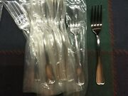 12 Liberty Tabletop Usa - Dinner Forks - 7.25 In. - Satin Richmond - New 2nd