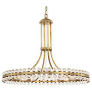 Crystorama Clo-8899-ag 12 Light Aged Brass Eclectic/mid Century/modern