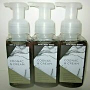 3 Soaps Bath And Body Works Hand Soap Gentle Foaming Cognac And Cream