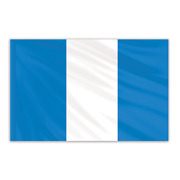 Global Flags Unlimited 201948f Guatemala Indoor Nylon Flag 2'x3' With Gold
